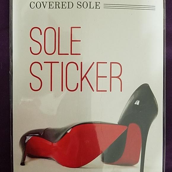 1243bb3b614ca Christian Louboutin sole sticker by 3M NWT
